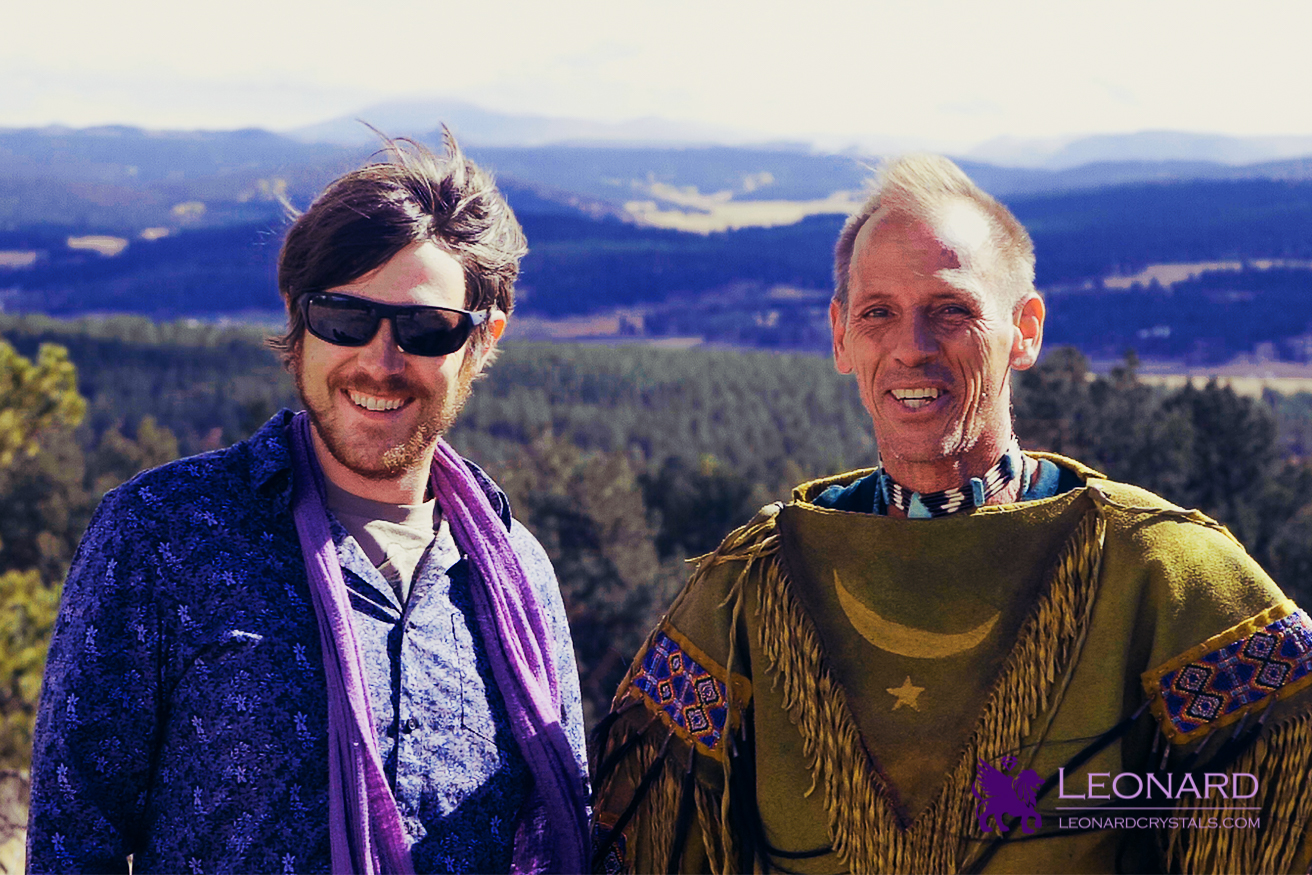 Michael Leonard & Clint Cross at the Colorado Turquoise Mine