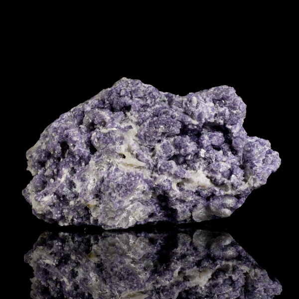 Purple Fluorite on Barite after Laumontite