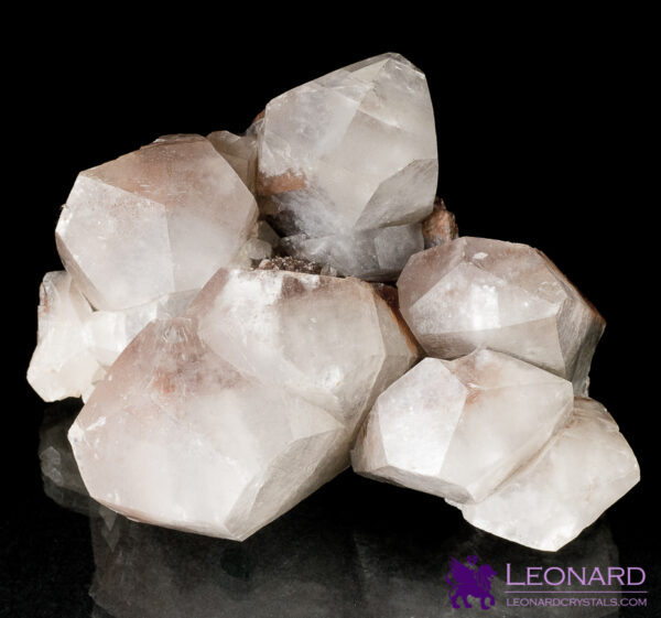 Red Calcite – 6-Top Cluster